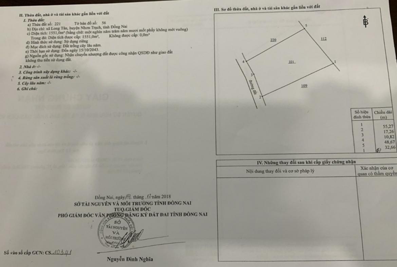 bán Đất xây nhà vườn ngay dự án Swan Park, xã Long Tân, huyện Nhơn Trạch, tỉnh Đồng Nai1